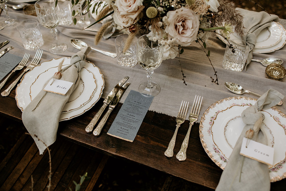 Its all in the details! How about this for your top table? More details available upon request.