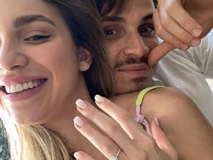 Jogador do Palmeiras fica noivo com irmã de Luan Santana