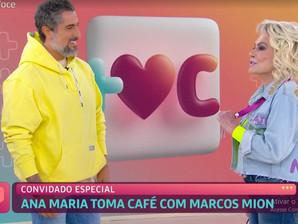 Marcos Mion chora ao falar que vai assumir os sábados na Globo