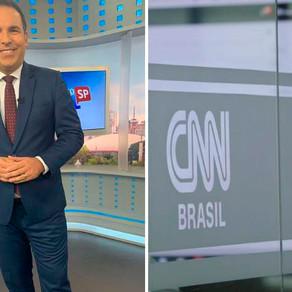 """Reinaldo Gottino mais que satisfeito: """"Estou realizando um sonho nesse momento, trabalhando na CNN"""""""