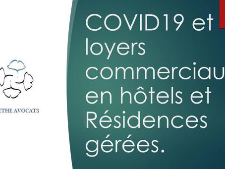 COVID-19 et loyers commerciaux en hôtels et résidences gérées