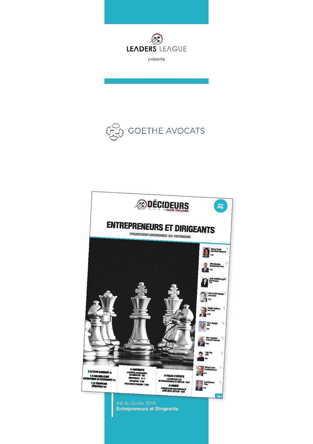 La couverture du dernier guide-annuaire 2009.