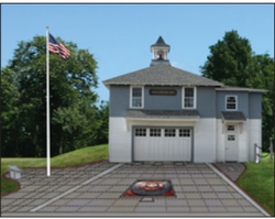 Completed Fire Barn