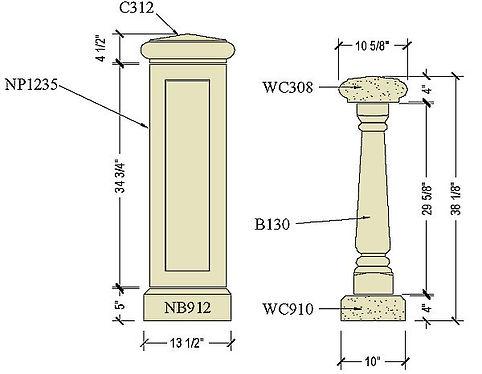Cast stone balustrade B130b.jpg
