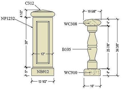 Cast stone balustrade B105b.jpg