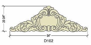 Cast stone decorative cartouche 102.jpg