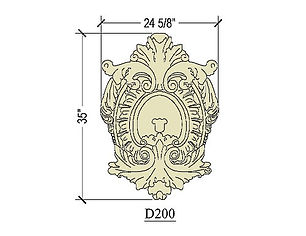Cast stone decorative cartouche 200.jpg