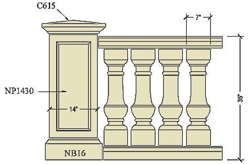 Cast stone balustrade B200a.jpg