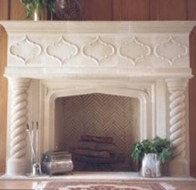 Cast stone fireplace  surround mediterranean1.jpg