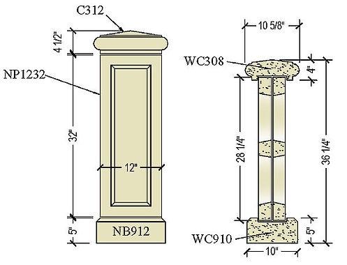 Architectural pre cast balustrade B500b.jpg