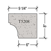 Architectural pre cast stone Window Sill T5208_png.jpg