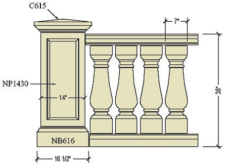 Architectural pre cast balustrade B201a.jpg