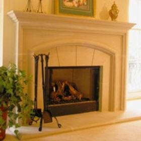 Cast stone fireplace  surround Durham1.jpg