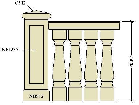 Architectural pre cast stone balustrade B136a.jpg