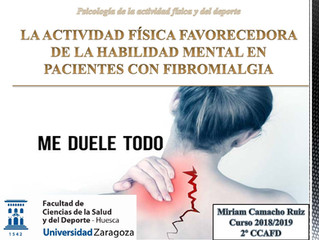 LA ACTIVIDAD FÍSICA FAVORECEDORA DE LA HABILIDAD MENTAL EN PACIENTES CON FIBROMIALGIA