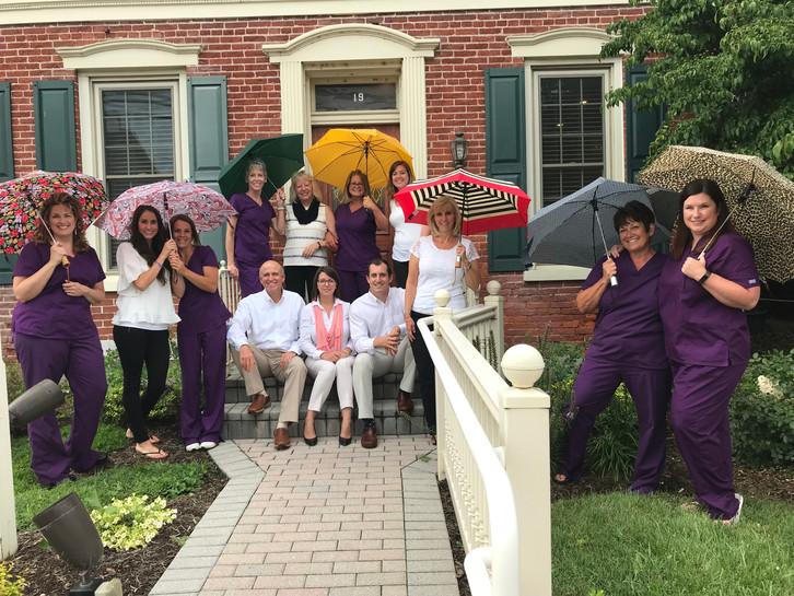 Staff Umbrella Picture
