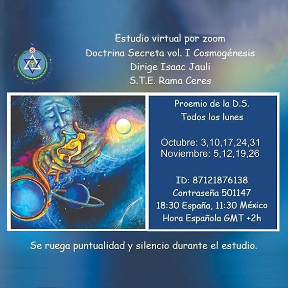 Doctrina Secreta Vol. 1 Cosmogénesis