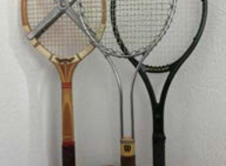 Eine kurze Geschichte des Tennisschlägers