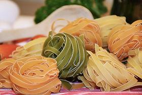 kleurrijke Pasta