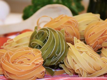 Pasta with Fresh Tomato Sauce & Ricotta