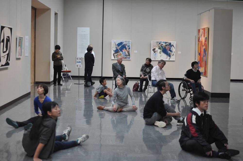 2019.11.9  石川県立美術館「鈴木治男 共生の森」