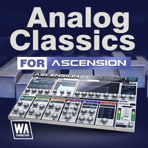 Analog Classics - Retrowave/ Synthwave Sounds for Ascension