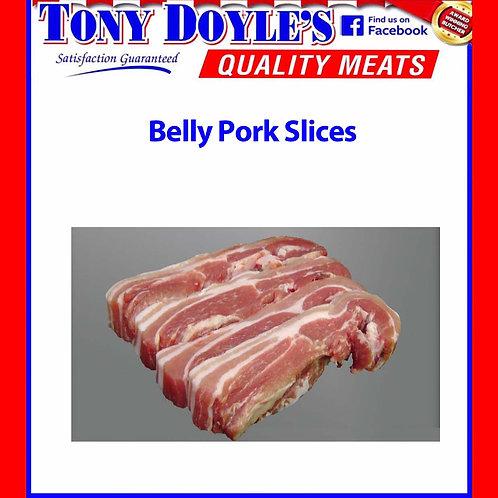 Sliced Belly Pork