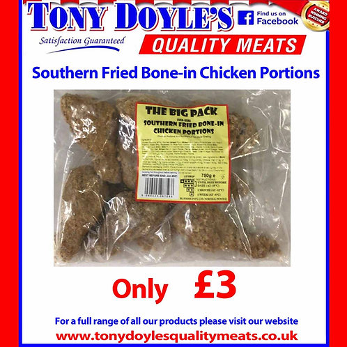 Souther Fried Bone-in Chicken Portions