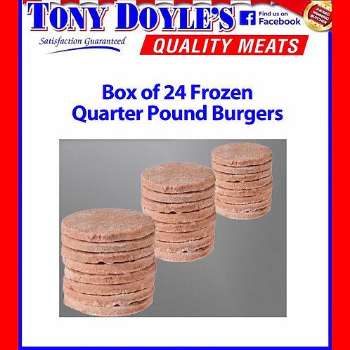 Quarter Pound Burgers