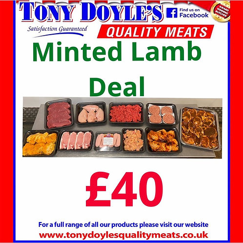 Minted Lamb Mis-shapes