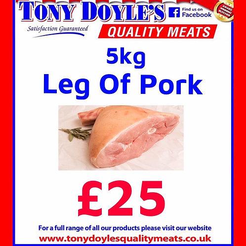 5kg Leg of Pork