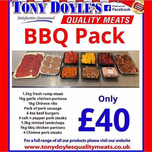 £40 BBQ Pack