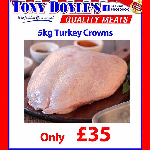 5Kg Turkey Crown