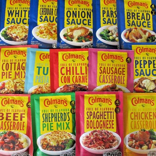 Coleman's Sauce Packets