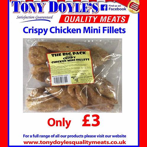 Crispy Chicken Mini Fillets