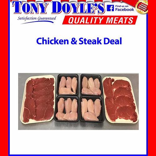 Chicken/Steak