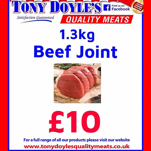 1.3 Beef Roasting Joint