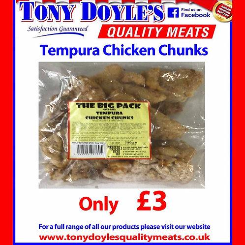 Tempura Chicken Chunks