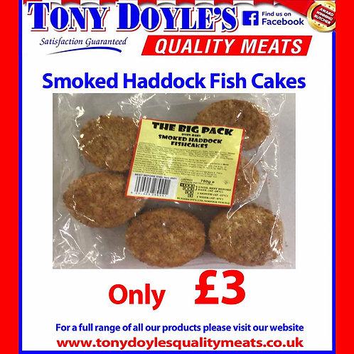 Smoked Haddock Fish Cakes