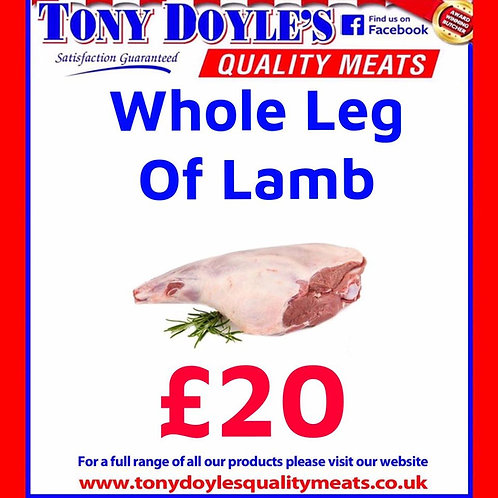Whole Leg of Lamb