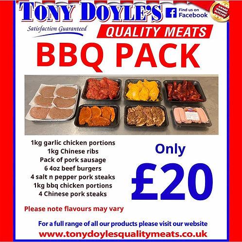 £20 BBQ Pack