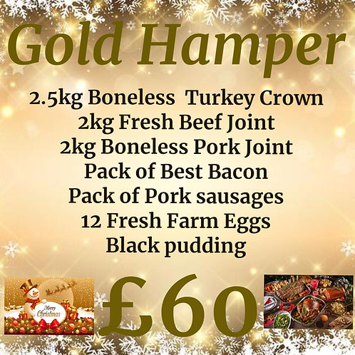 £60 Gold ChristmasHamper