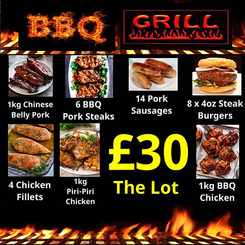 £30 BBQ GRILL PACK