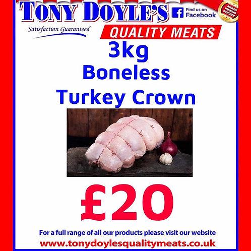 3Kg Turkey Crown