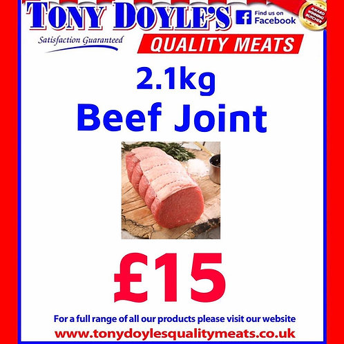 2.1Kg Beef Roasting Joint