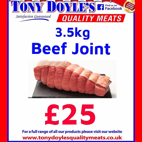 3.1Kg Beef Roasting Joint