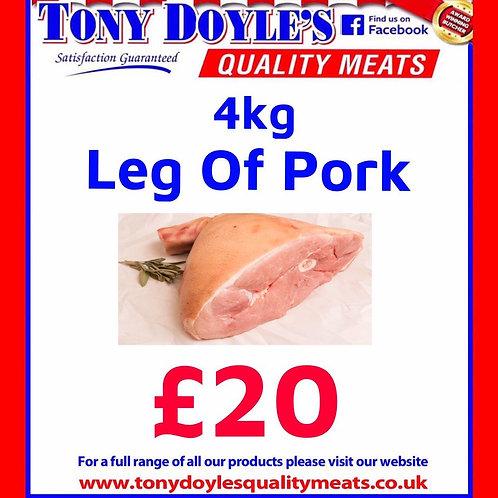 4kg Leg of Pork