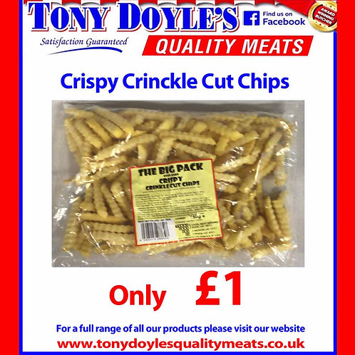 Crinckle Cut Chips