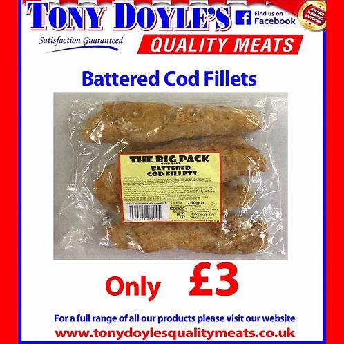 Battered Cod Fillets