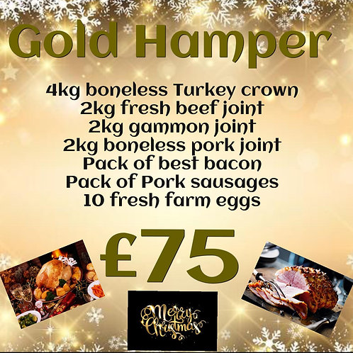 £75 Gold ChristmasHamper